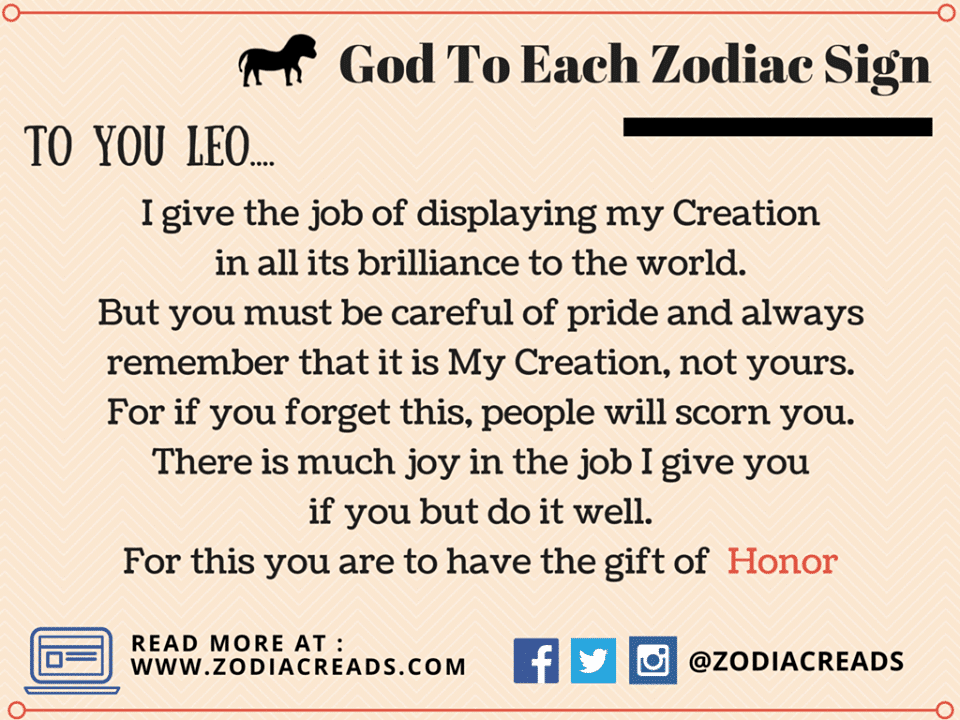 God To Signs God Assigning Duties To 12 Zodiac Is Best Thing To Read