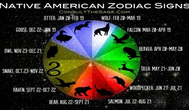 What Is Native American Zodiac Signs [Native American Animal Signs]