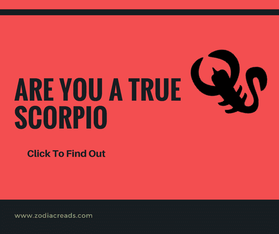 Are you True Scorpio Take This Quiz