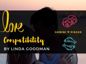 GEMINI and Pisces Compatibility Linda Goodman