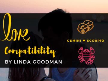 GEMINI and Scorpio Compatibility Linda Goodman