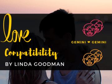 gemini and Gemini Compatibility Linda Goodman