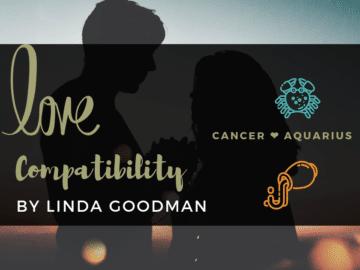 Cancer and Aquarius Compatibility Linda Goodman