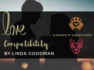 Cancer and Capricorn Compatibility Linda Goodman