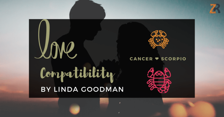 Cancer And Scorpio Compatibility From Linda Goodman's Love Signs