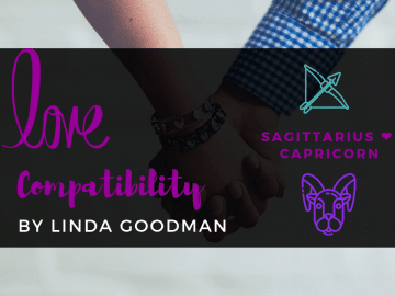 Sagittarius and Capricorn Compatibility Linda Goodman