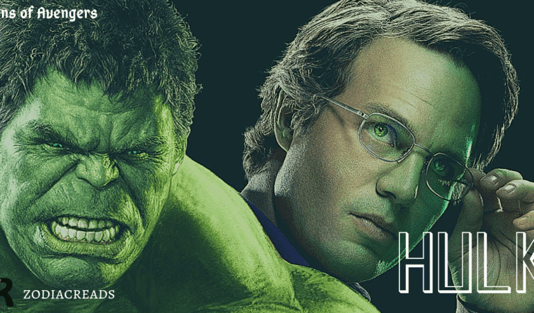 Zodiac Sign of Hulk / Bruce Banner