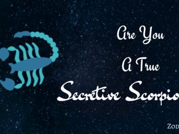 Scorpio Quiz Are you true Scorpio