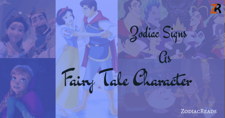 Zodiac Signs as Fairy Tale Characters | Zodiac Reads