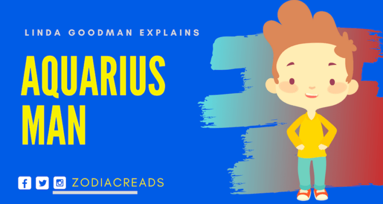 The Aquarius Man - Aquarius by Linda Goodman | Zodiac Reads