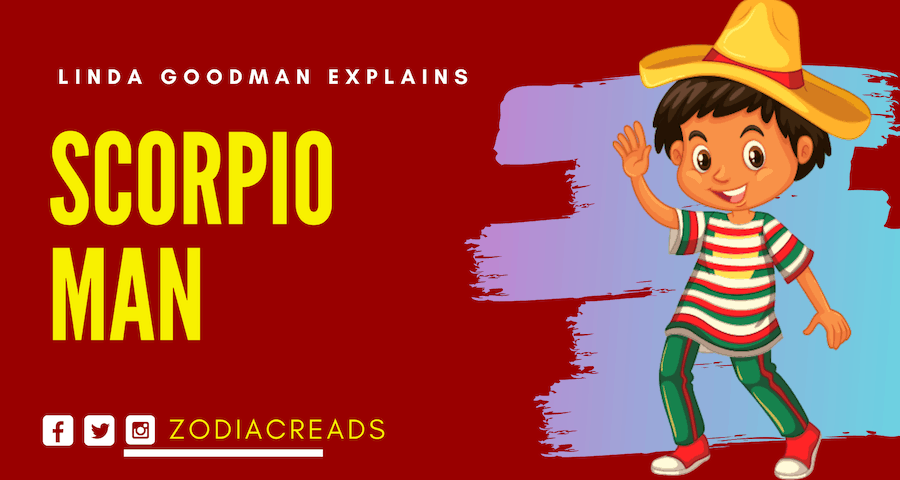 The Scorpio Man - Scorpio by Linda Goodman | Zodiac Reads