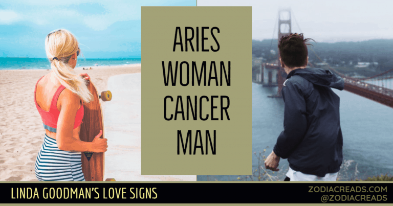 Aries Woman and Cancer Man Love Compatibility - Linda Goodman