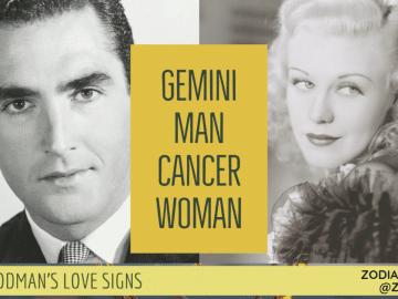 Gemini Man Cancer Woman Compatibility LINDA GOODMAN ZODIACREADS