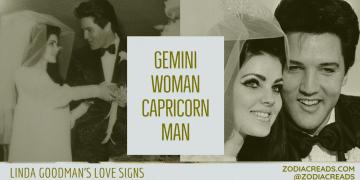 Gemini Woman Capricorn Man Compatibility LINDA GOODMAN ZODIACREADS
