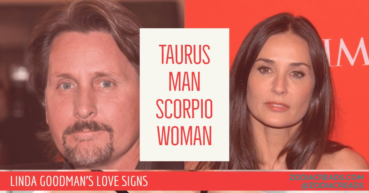 Taurus Man and Scorpio Woman Love Compatibility - Linda