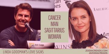 Cancer Man and Sagittarius Woman Compatibility LINDA GOODMAN ZODIACREADS