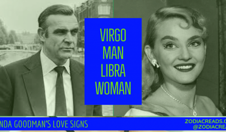 Virgo Man and Libra Woman Compatibility From Linda Goodman's Love Signs