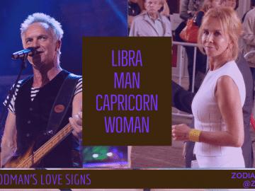 Libra Man and Capricorn Woman Compatibility LINDA GOODMAN ZODIACREADS