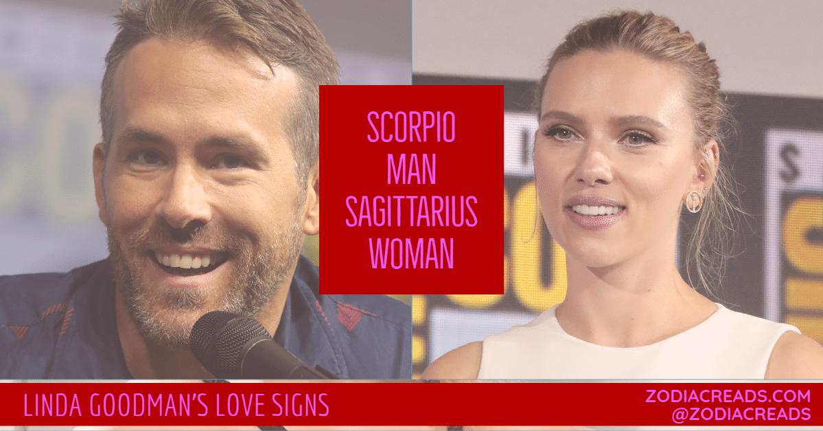 Scorpio Man and Sagittarius Woman Love Compatibility