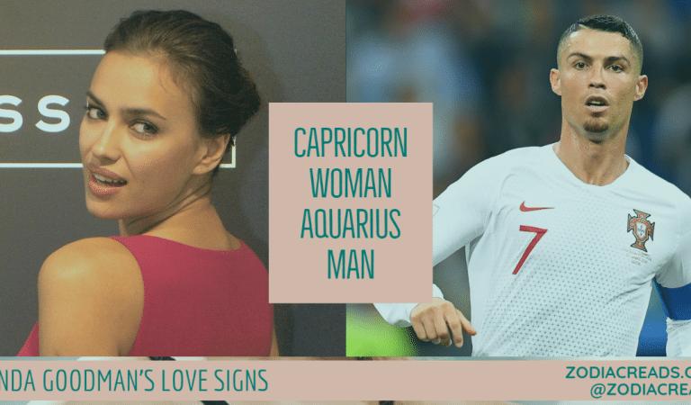 Capricorn Woman and Aquarius Man Compatibility From Linda Goodman's Love Signs