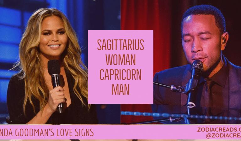 Sagittarius Woman and Capricorn Man Compatibility From Linda Goodman's Love Signs