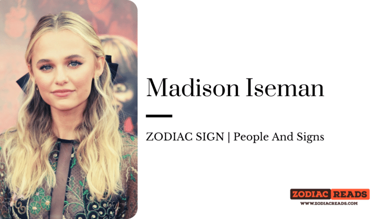 Madison Iseman- ZODIAC SIGN | PeopleAndSigns