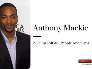 Anthony Mackie Zodiac sign zodiacreads