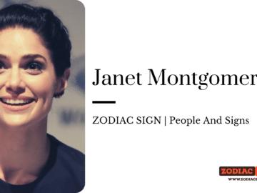 Janet Montgomery zodiac