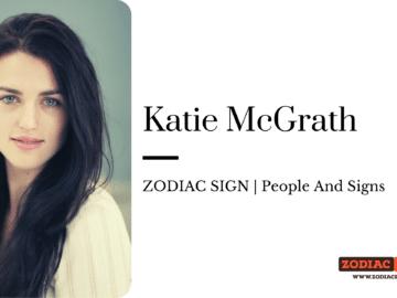 Katie McGrath zodiac