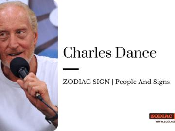 Charles Dance zodiac