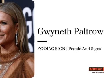 Gwyneth Paltrow zodiac