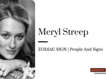 Meryl Streep zodiac