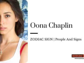 Oona Chaplin zodiac