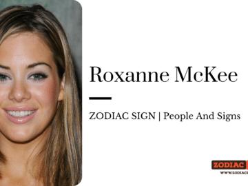 Roxanne McKee zodiac