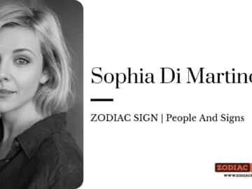 Sophia Di Martino zodiac