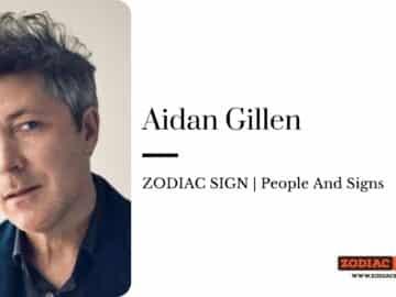 Aidan Gillen zodiac