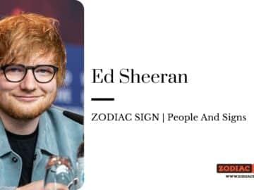 Ed Sheeran zodiac
