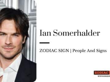 Ian Somerhalder zodiac