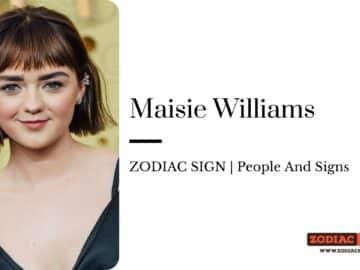 Maisie Williams zodiac