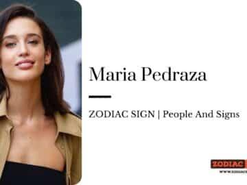 Maria Pedraza zodiac