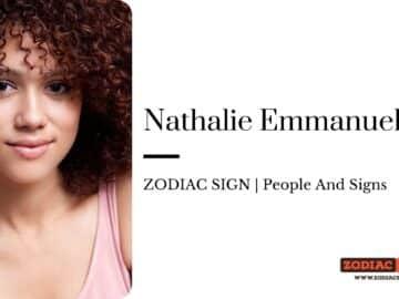Nathalie Emmanuel zodiac