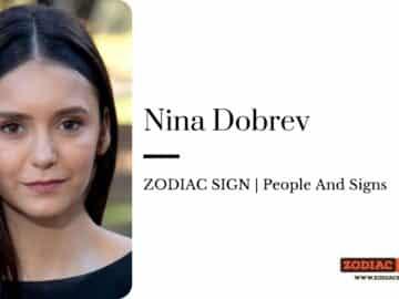 Nina Dobrev zodiac