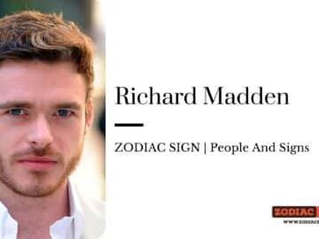 Richard Madden zodiac
