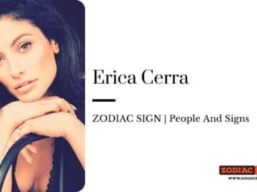 Erica Cerra zodiac