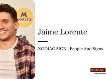 Jaime Lorente zodiac