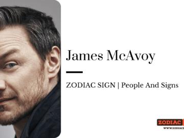 James McAvoy zodiac