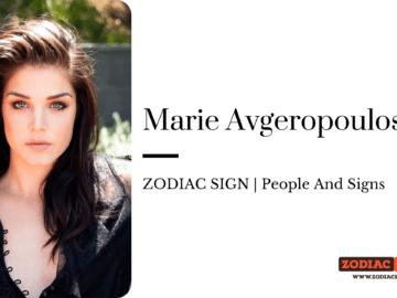 Marie Avgeropoulos zodiac