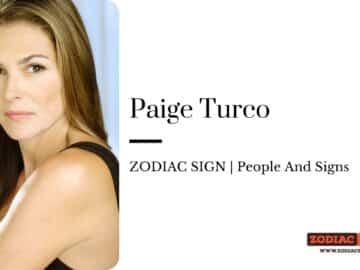 Paige Turco zodiac