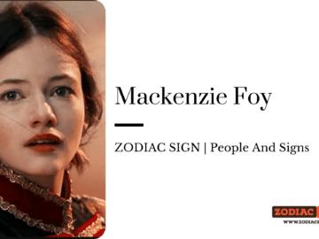 Mackenzie Foy zodiac