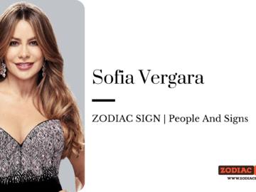 Sofia Vergara zodiac